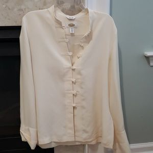 EUC Talbots 100% silk